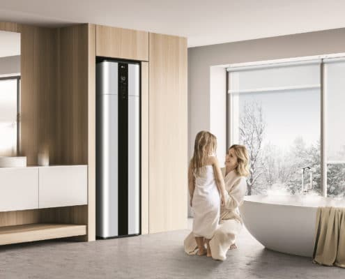 LG WATER Heater delivers ultra efficient Eco friendly performance with Award winning design