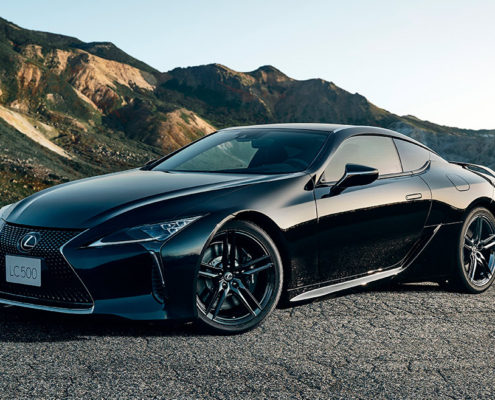 2021 Lexus LC 500 inspiration series performance luxury takes flight