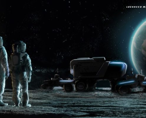 Lockheed Martin, General Motors Team to Further Lunar Exploration with Autonomous Moon Rover